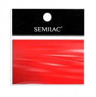 Semilac Red, folia transferowa do zdobienia paznokci