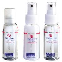 Elkaderm Neutrea 5% Urea, mini zestaw: szampon + kuracja + płyn do stylizacji, 3x50ml