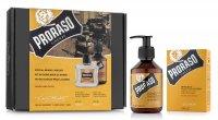 Proraso, zestaw: balsam + szampon do brody, Wood&Spice, 200ml + 100ml