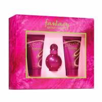 Britney Spears Fantasy, zestaw perfum Edp 15ml + 50ml żel pod prysznic + 50ml krem do ciała (W)