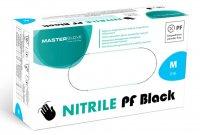 Master Glove, rękawiczki nitrylowe, czarne, rozmiar M, 100 sztuk