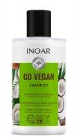 INOAR Go Vegan, szampon wegański, 300ml