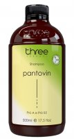 Three Therapy Pantovin Hair Life, szampon wspierający wzrost włosów, 500ml