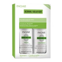Inoar Herbal Solution Duo Pack, szampon + odżywka, 2x250ml