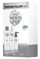 Nioxin 3D System 1, zestaw pielęgnacyjny, 150+150+50ml