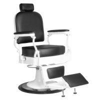 Fotel barberski Gabbiano Fabrizzio, czarny