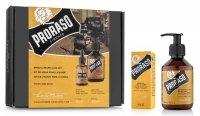Proraso, zestaw: olejek + szampon do brody, Wood&Spice, 200ml + 30ml