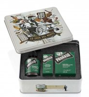 Proraso Vintage, zestaw do pielęgnacji brody i wąsów, Refreshing, 200ml + 100ml + 30ml