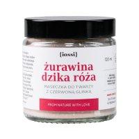 Iossi Żurawina i Dzika Róża, antyoksydacyjna maseczka, 120ml