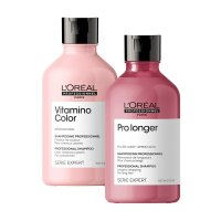 Loreal Vitamino Color + Pro Longer, zestaw szamponów, 2x300ml