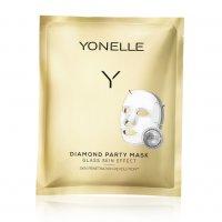 Yonelle Diamond, diamentowa maska bankietowa, 3szt.
