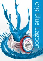 Żel kolorowy Semilac UV Gel 019 Blue Lagoon 5 ml - krótka data ważności (8.2019)