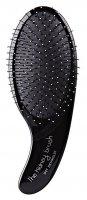 Olivia Garden Kidney szczotka do rozczesywania włosów mokrych, czarna