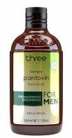 Three Therapy Pantovin, szampon dla mężczyzn z naturalnymi emolientami, 500ml