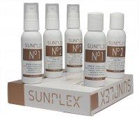 Sunplex, kuracja regenerująca podczas koloryzacji, zestaw, 5x50ml