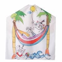 Efalock Cats, peleryna dla dzieci, kotki