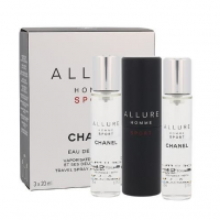 Chanel Allure Homme Sport, woda toaletowa, 3x20ml (M)