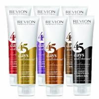 Revlon 45 Days, szampon i odżywka 2w1, odświeżenie koloru, 275ml