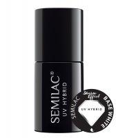 Semilac Sharm Effect, Base White, biała baza hybrydowa, 7ml