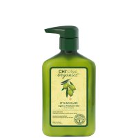 CHI Olive Organics, krem do stylizacji, 340ml