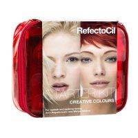 RefectoCil Starter Kit, zestaw startowy do koloryzacji brwi i rzęs, kolory kreatywne