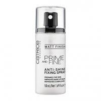 Catrice, Prime And Fine, spray utrwalający makijaż, 50ml