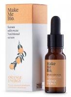Make Me Bio Orange Energy, odżywcze serum do twarzy, 15ml