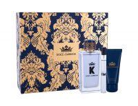 Dolce&Gabbana K, zestaw: Edt 100 ml + Żel pod prysznic 50 ml + Edt 10 ml (M)