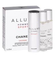Chanel Allure Homme Sport Cologne, woda kolońska, 3x20ml (M)