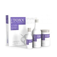 Hair Toxx, profesjonalny zestaw do krioterapii włosów, 2x1000ml+250ml