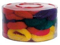 Efalock gumki frotte, kolorowe, 50 szt.