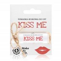 Pomadka ochronna do ust Make Me Bio Kiss me, 5ml - krótka data ważności (koniec 1.2020)