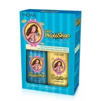INOAR Photoshop DUO PACK, szampon + odżywka nabłyszczające i regenerujące, 2x250ml