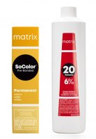 Matrix SoColor Reflex Pre-Bonded, gotowy zestaw do koloryzacji: farba + oxydant