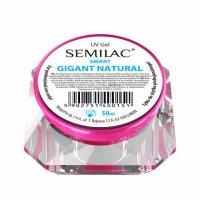 Semilac UV Gel Smart, żel do paznokci, Gigant Natural, 50ml