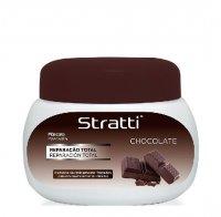Stratti Chocolate Keratin, maska intensywnie regenerująca, 550g