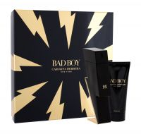 Carolina Herrera Bad Boy, zestaw: Edt 100 ml + Żel pod prysznic 100 ml (M)