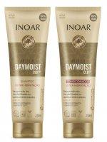 INOAR Absolut Daymoist CLR DUO PACK, szampon + odżywka nawilżające, 2x240ml
