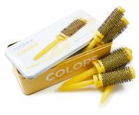 Termix C-Ramic Yellow, zestaw szczotek do włosów, 5 szt.