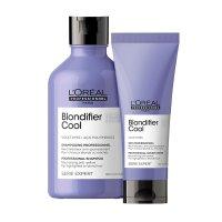 Loreal Blondifier Cool, zestaw do włosów blond, 300ml + 200ml