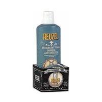 Reuzel Bootpack, zestaw Astringent Foam 200ml + Shave Cream 28,5g