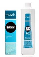 Matrix SoColor Blonde Pre-Bonded, gotowy zestaw do koloryzacji: farba + oxydant