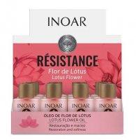Inoar Resistance Lotus, olejek do włosów osłabionych, 12x7ml