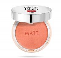 Pupa Extreme Blush Matt, róż do policzków o efekcie naturalnego rumieńca, 001 Romantic Pink