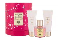 Acqua di Parma Peonia Nobile, zestaw: Edp 100 ml + Krem do ciała 75 ml + Żel pod prysznic 75 ml (W)