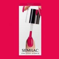 Semilac One Step Hybrid, lakier hybrydowy, 5ml, S680 Magenta