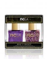 NCLA, zestaw lakierów do paznokci, Rock'N'Royalty, 2x15ml