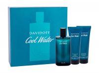 Davidoff Cool Water, zestaw: Edt 125ml + 75ml Balsam po goleniu + 75ml Żel pod prysznic (M)