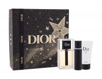 Christian Dior Dior Homme 2020, zestaw: EDT 100 ml + Żel pod prysznic 50 ml + EDT 10 ml (M)