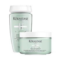 Kerastase Specifique, zestaw odświeżający, szampon + glinka, 2 x 250ml
